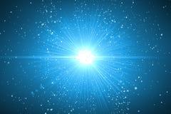 Lens signalljusljus över svart bakgrund Lätt att tillfoga samkopieringen eller s Royaltyfria Foton