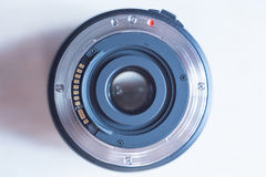Lens. The lens from SLR camera Stock Image