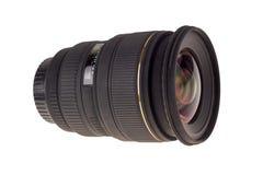Lens van moderne digitale camera, mening van voorlens Royalty-vrije Stock Foto