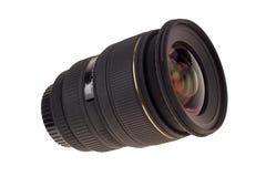 Lens van moderne digitale camera, mening van voorlens Stock Foto's