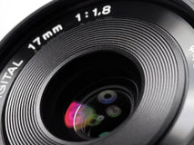 Lens voor digitale camera Royalty-vrije Stock Afbeelding