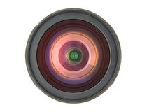 Lens on the white background isolated Royalty Free Stock Photos