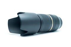 Lens zoom for camera. Stock Photos