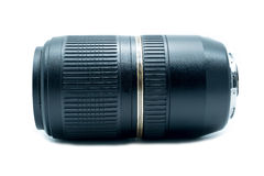 Lens zoom for camera. Royalty Free Stock Photo