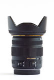 Lens zoom normal for DSLR. Royalty Free Stock Photos
