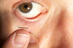 lense контакта Стоковое фото RF