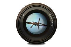 Lense Stock Foto