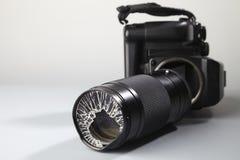 Lense cassé Images libres de droits