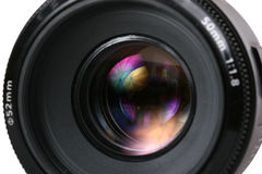 Lense de photo Photos stock