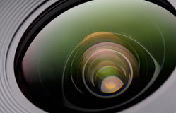 Lense della macchina fotografica Immagini Stock