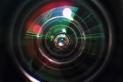 Lense glass background Royalty Free Stock Photos