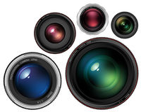 Lenses Royalty Free Stock Photography