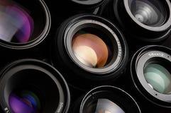 Lenses Stock Photo