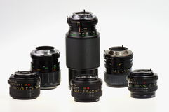 Lenses Royalty Free Stock Image