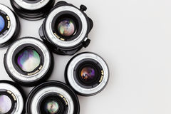 Lenses for photocamera Royalty Free Stock Photo