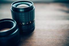 Photographic Lenses Stock Photo