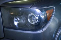 lenses and turn signal lights pickup royalty free stock photography
