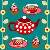 Lenta de la bebida del té Imagenes de archivo