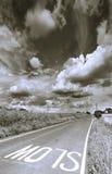 Lentamente en la distancia Foto de archivo libre de regalías