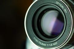 Lente da câmara de vídeo Fotos de Stock