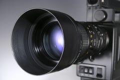 Lente da câmara de vídeo Imagens de Stock Royalty Free