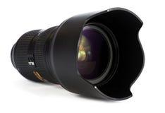 Lente da parte alta para uma câmera de DSLR Imagens de Stock