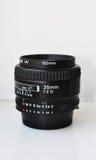 lente de cámara, 35m m Foto de archivo libre de regalías