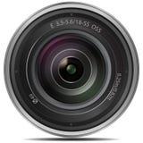Lente de cámara Foto de archivo