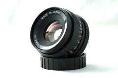 lente de cámara de 50m m Fotos de archivo libres de regalías