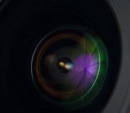 Lente de cámara de la foto Imágenes de archivo libres de regalías
