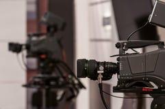 Lente de cámara profesional Imagenes de archivo