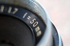 Lente de cámara refleja del vintage Imágenes de archivo libres de regalías