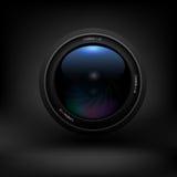 Lente de cámara Vector Fotos de archivo