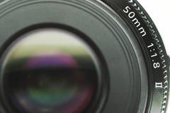 Lente de câmera Imagens de Stock