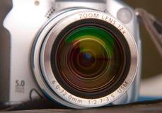 Lente de câmera imagem de stock