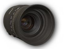 Lente de câmera Imagens de Stock Royalty Free