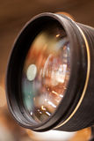 A lente de câmera Fotos de Stock Royalty Free