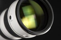 Lente de câmera na perspectiva imagens de stock