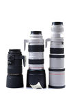Lente de câmera profissional fotografia de stock royalty free