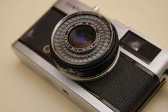 Lente de câmera retro Imagem de Stock