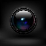 Lente de câmera Vetor Fotografia de Stock Royalty Free