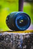 A lente de Canon sem quadro da lente não é nada imagens de stock royalty free