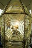 Lente de Fresnel del faro Foto de archivo libre de regalías