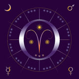 Lente (de lente) equinox Royalty-vrije Stock Foto's