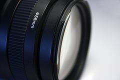 lente de telephoto de 58m m Canon Imagen de archivo