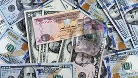 lente dei soldi @ Immagini Stock Libere da Diritti