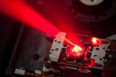 Lente del laser del dvd Imágenes de archivo libres de regalías