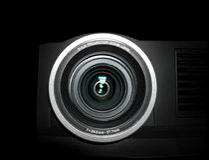 Lente del proyector - ascendente cercano fotos de archivo libres de regalías
