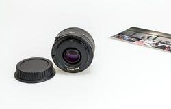 lente di 50mm Fotografie Stock