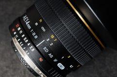 Lente di una macchina fotografica Fotografia Stock